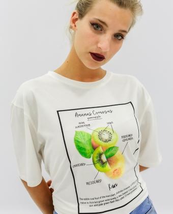 T-Shirt com estampado Kiwi