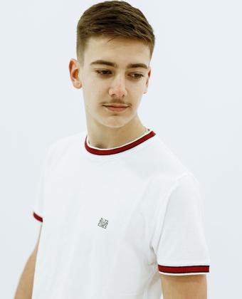 T-Shirt básica de malha