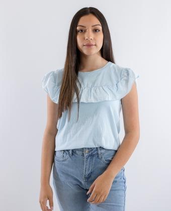 T-Shirt com folho