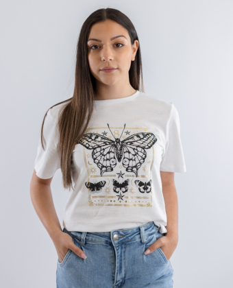 T-shirt com padrão