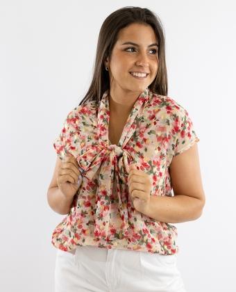 Blusa com padrão