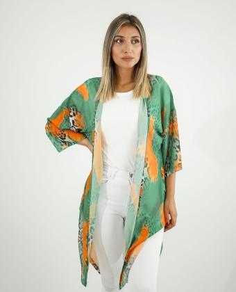 Kimono com padrão